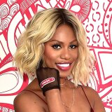 (BAND-AID®)RED spokesperson Laverne Cox