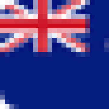 A graphic of the flag of New Zealand