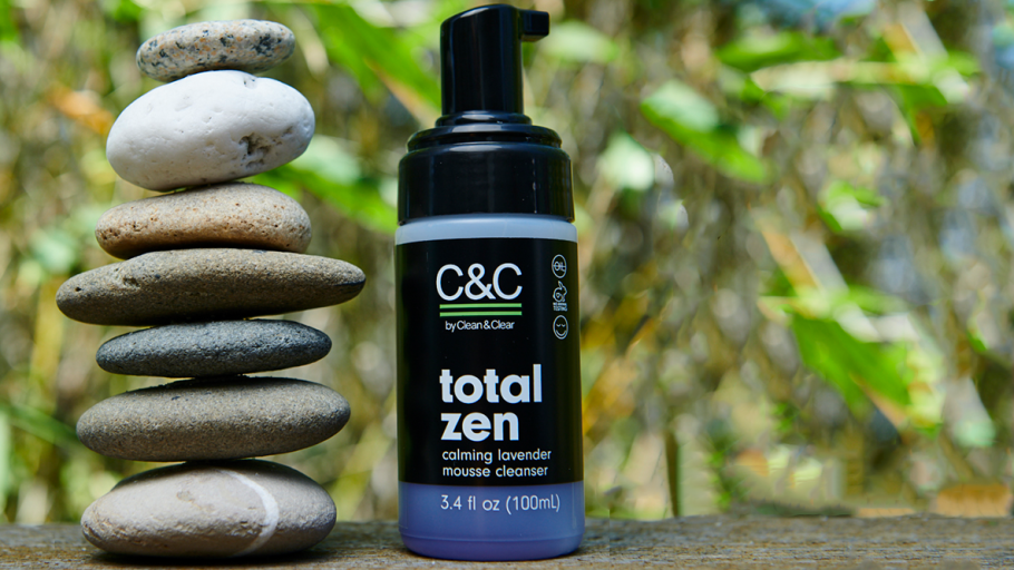 C&C by Clean & Clear Total Zen Calming Lavender Mousse Cleanser