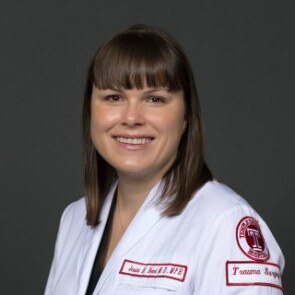Jessica H. Beard, M.D., M.P.H., Assistant Professor of Trauma and General Surgery at Temple University Lewis Katz School of Medicine and Director of Research for the Ghana Hernia Society