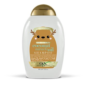 OGX Limited Holiday Edition Coconut Miracle Oil Extra Strength Shampoo