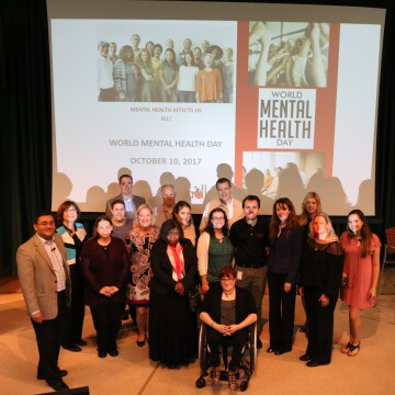 A Group of Johnson & Johnson Mental Health Diplomats
