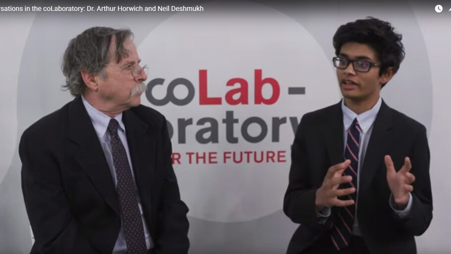 Conversations in the coLaboratory: Dr. Arthur Horwich and Neil Deshmukh
