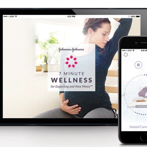7 Minute Wellness for Expecting and New Moms™ App from Johnson & Johnson