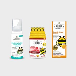 A selection of Zarbee's Naturals™ self-care products