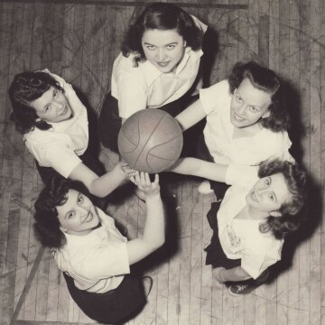 The 1946-47 Johnson & Johnson women's basketball team
