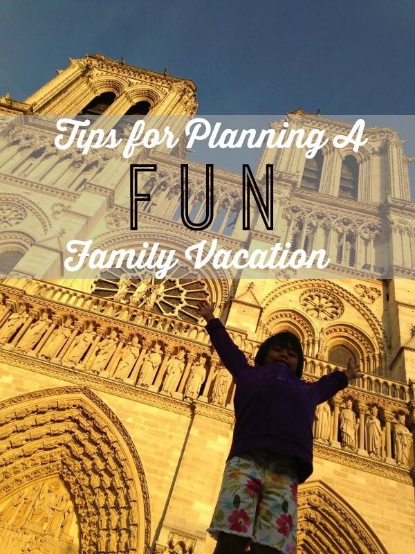 fun family vacation