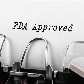 FDA approved typed on a typewriter