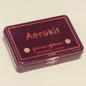 Johnson & Johnson 1927 Aerokit First Aid Kit