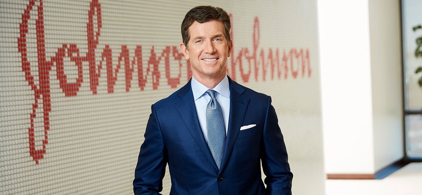 Alex Gorsky Discusses COVID-19 at Fortune Brainstorm Health   Johnson &  Johnson