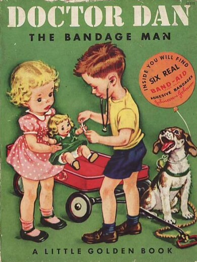 Doctor Dan The Bandage Man classic kids book