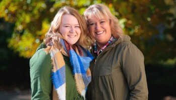 Sonya Fox and her daughter Rebecca Moore after successfully undergoing bariatric weight-loss surgery
