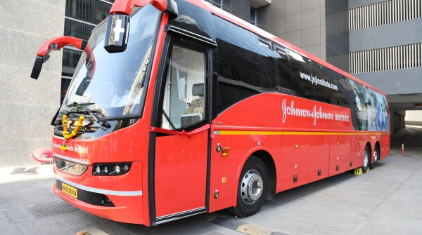 The Johnson & Johnson Institute on Wheels in India