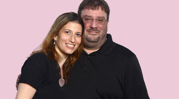 Marisa Troy and Frank Garufi