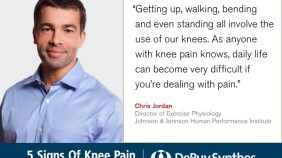 DePuy Synthes Knee Pain Chris Jordan