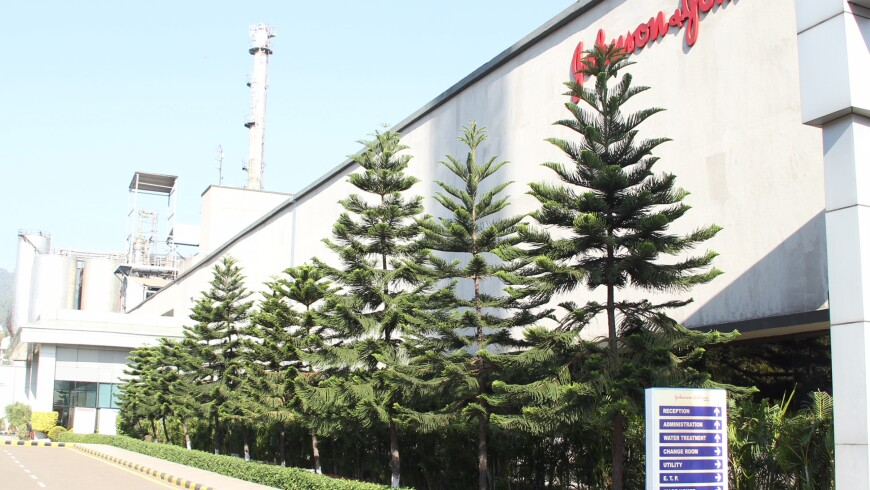 A 3.5-Acre Johnson & Johnson Plant in Baddi, India