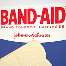 A photo of a box of Band-Aids