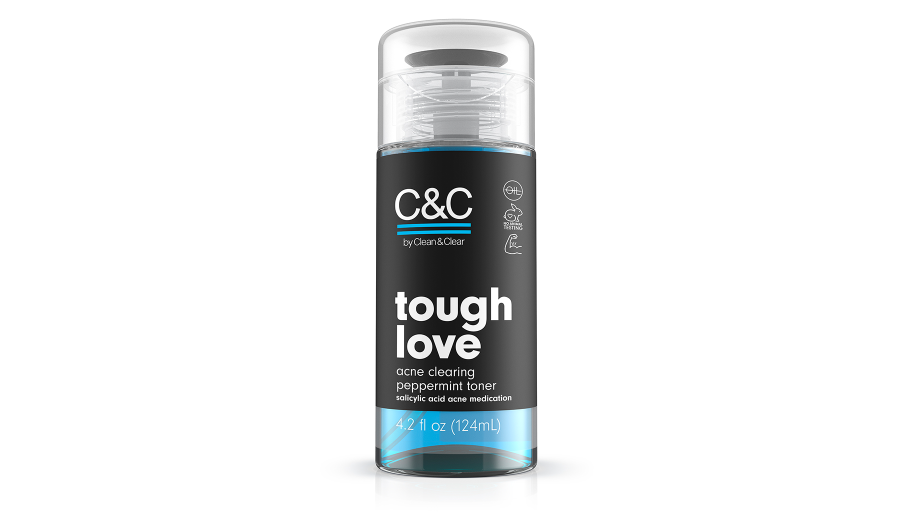 C&C by Clean & Clear Tough Love Acne Clearing Peppermint Toner