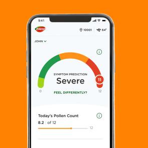 Zyrtec® AllergyCast® app