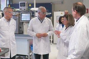 Hanneke Schuitemaker in the Janssen labs