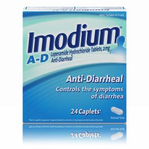 Imodium® (Active Ingredient: Loperamide Hydrochloride) Anti-Diarrheal Caplets