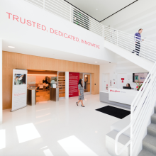 A photo of the Johnson & Johnson Institute in Irvine, California