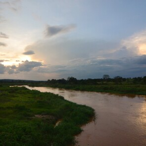 The Kagera River in Rwanda