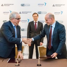 J&J enters agreement for Russia and CIS