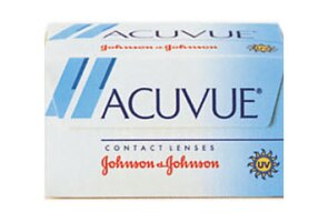Acuvue?  Brand Contact Lenses, the first disposable contact lenses that could be worn for up to a week
