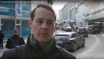On the Streets of Davos: What's the Future of Manufacturing?