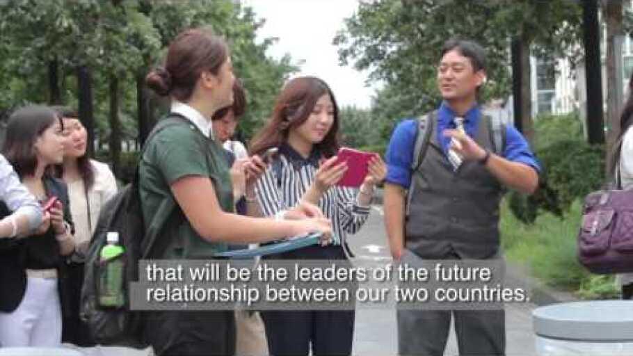 TOMODACHI J&J Disaster Nursing Training Program - U.S. Study Tour 2015