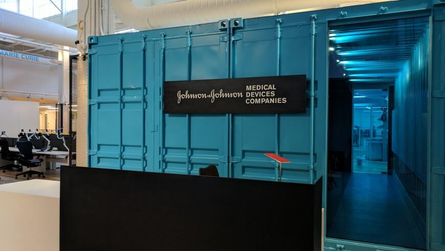 A photo of Johnson & Johnson's Center for Device Innovation