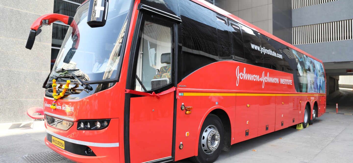 The Johnson & Johnson Institute on Wheels in India