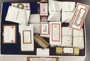 A close-up photo of Dr. Cooke's Maternity Kit