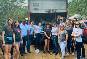 Johnson & Johnson employees from offices and manufacturing facilities in Guaynabo, San Lorenzo and Manatí mobilized quickly in January 2020 to help earthquake victims by distributing personal care supplies, over-the-counter medicines, tents, and food.