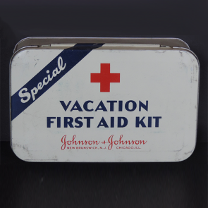 Johnson & Johnson 1942 Vacation First Aid Kit