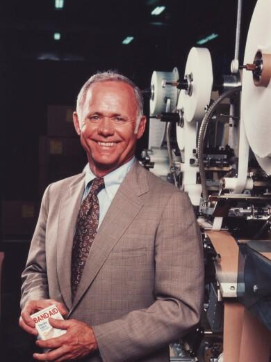 Former Johnson & Johnson Chairman and CEO James E. Burke