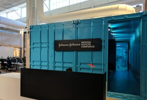 A photo of Johnson & Johnson's Center for Device Innovation