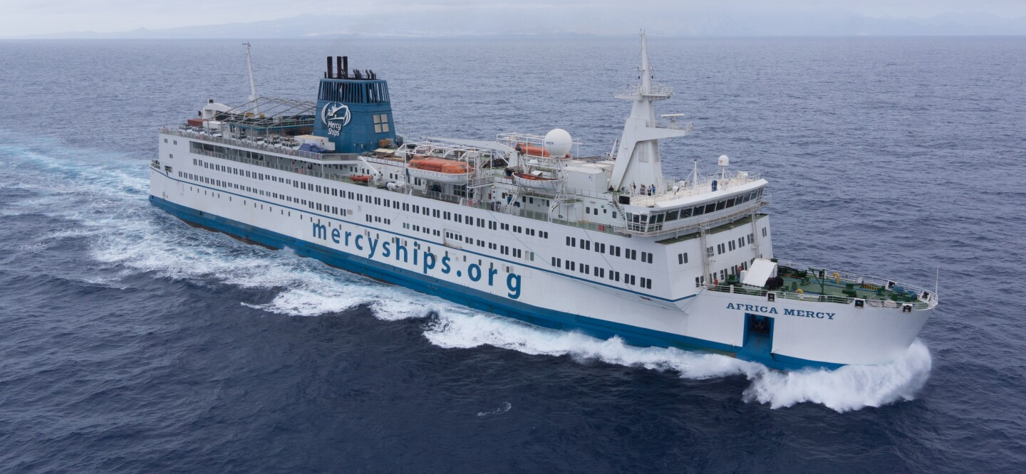 The Africa Mercy ship