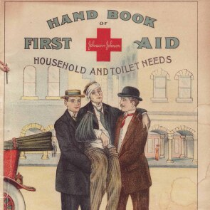 An Early Version of the Johnson & Johnson Hand Book of First Aid