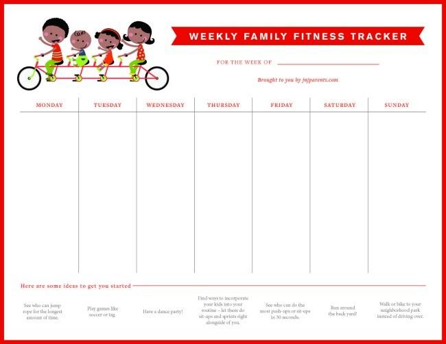 family fitness tracker