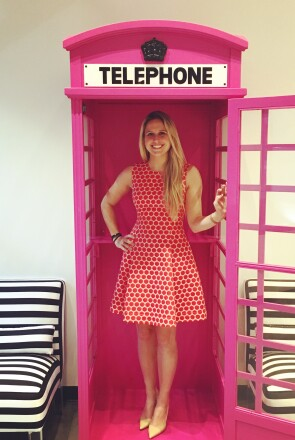 IntuiTap Medical CEO Jessica Traver at a Pink Ceiling event