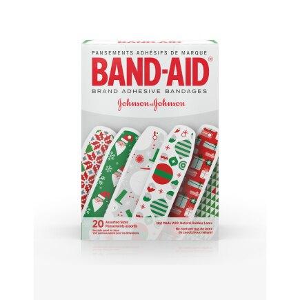 Holiday BAND-AID® Brand Adhesive Bandages