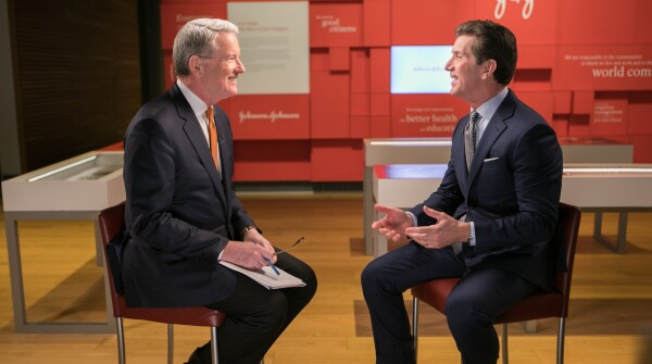 Alex Gorsky, Johnson & Johnson CEO and Chairman, Being Interviewed by David Westin for Bloomberg Big Decisions
