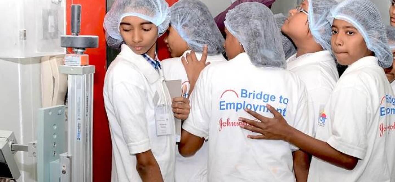 Bridge To Employment Johnson Johnson India