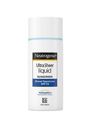 Neutrogena® Ultra Sheer® Liquid Sunscreen Broad Spectrum SPF 70