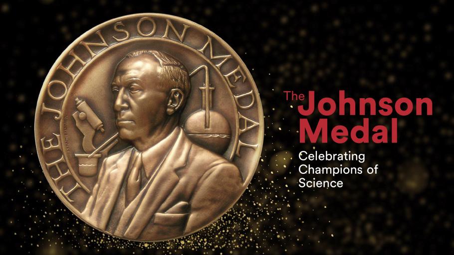 The Johnson Medal 2020 logo