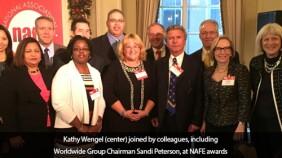 NAFE Honors Kathy Wengel