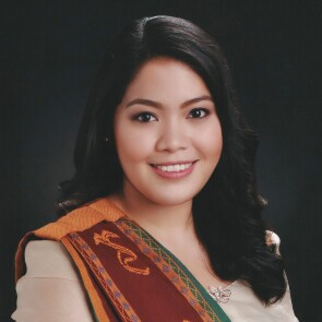 Annah Margarita Montesa, a project officer for Save the Children in the Philippines