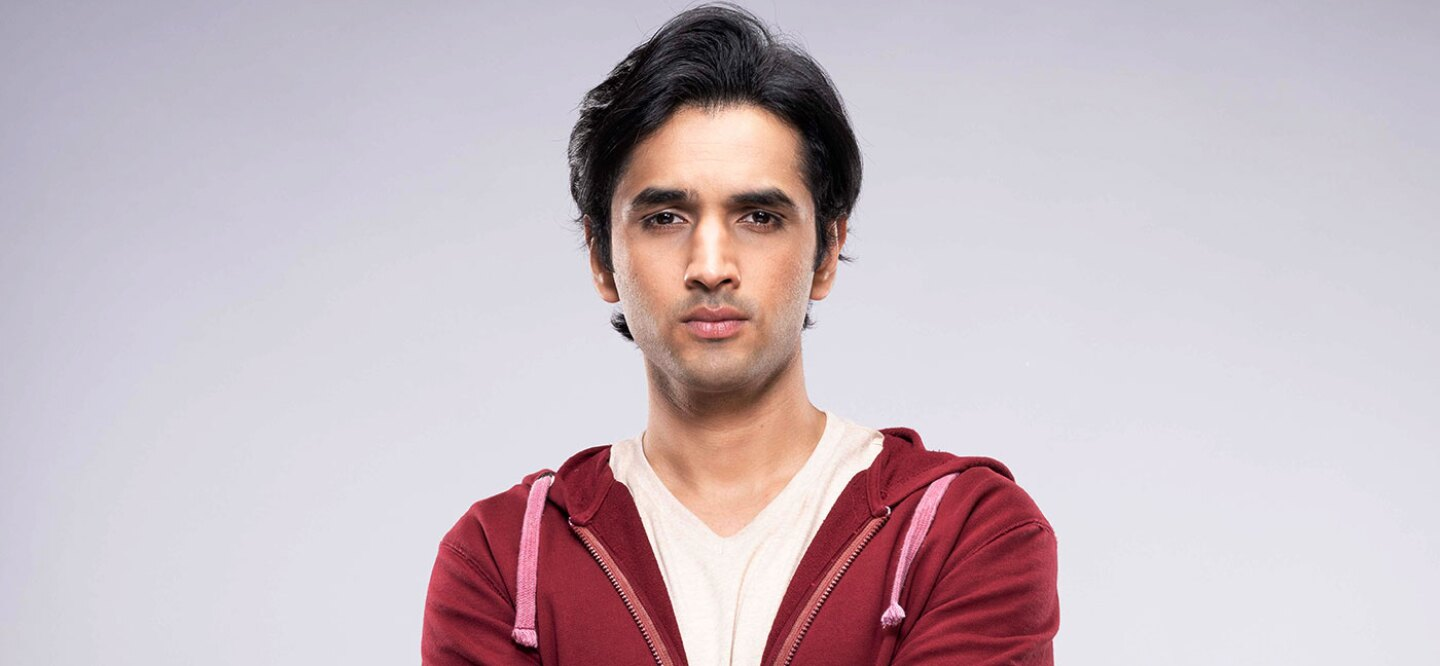 Syed Raza Ahmed plays VIcky in the new show MTV Nishedh in India